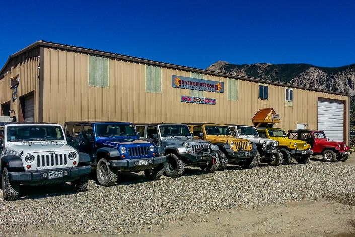 skyhigh offroad - crested butte car mechanic